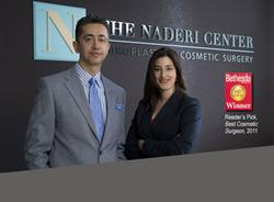 Shervin Naderi, MD, FACS and Jessica Kulak, M.D.