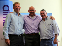 Left to right: Derek Six, William Flederbach and Scott Subler