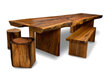 A stunning wooden table by Dave Stine Woodworking is an example of the finely crafted furniture that will grace the four-day WDC celebration of functional Western design.