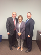 Representative Lou Lang, Representative Sara Feigenholtz, and Yehiel Mark Kalish