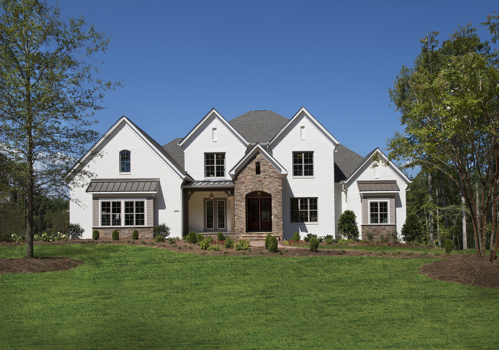 Shea homes opens new luxury model homes in weddington nc for Grayson home