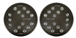 Putco High Power LED Headlights for Jeep CJ and Wrangler