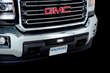 Putco Stainless Steel Bumper Grilles with Light Bar for 2015 GMC Sierra 2500 HD Pickup