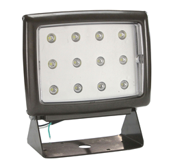 40 Watt LED Wall Pack Light that is Equivalent to a 400 Watt Metal Halide Unit