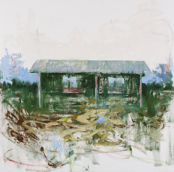 Stephen Hayes, David Richard Gallery, Refuge, Oil on canvas