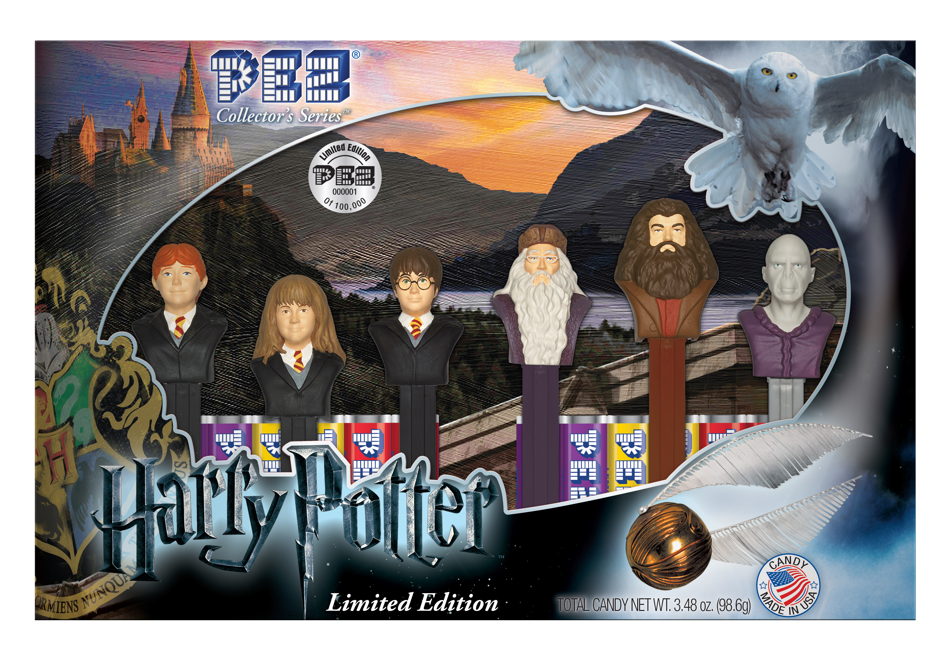 PEZ Candy Inc Partners With Warner Bros Consumer Products To Launch All New Harry Potter Collector Set