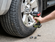 Rockwell's 20V 1/2 in. Impact Wrench removes lug nuts on wheel rims