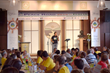 Scientologists and their guests gathered for a luncheon at the Church of Scientology Padova, bringing the community together in the name of peace.