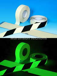 Glow in the Dark Anti-slip Tape ensures safe passage during power outages