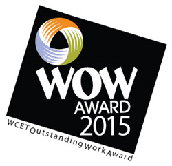 2015 WCET Outstanding Work Award Logo