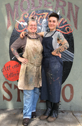 Tattoo Artists Suzanne Shifflett and Tanya Wischerath Present Classical Atelier Reflecting San Francisco's Counter-Culture in Two Exhibitions for Folsom Street Fair