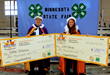 Nathan Vonderharr and Katie Benson Named Minnesota Poultry Prince and Princess at 2015 State Fair