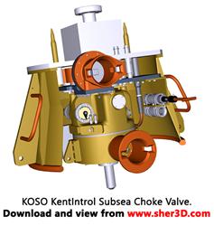 KOSO KentIntrol Subsea Choke Valve
