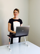 Head Back to Fall's Peak Business Travel Season with a Traveler Standing Desk