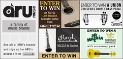 ARU Music. Signup up for the Newsletter to stay up-to-date on new instruments, contests and more! http://arumusic.com/