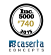 Caserta Concepts Approaches Top of Inc. Magazine's America's Fastest-Growing Private Companies—the Inc. 5000