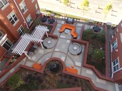 LEED Qualifications Using Decorative Concrete by Sundek of Washington