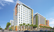 Triton Center will include a 139-key hotel, 324- unit apartment building, 17,000 sf of ground-level retail and 576 parking spaces.