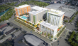 The mixed used development is located at 7880 Biscayne Blvd in Miami, Florida near the MiMo District.