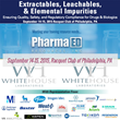 Whitehouse Laboratories to Participate in Pharm Ed Resources Extractables, Leachables, & Elemental Impurities Educational Seminar