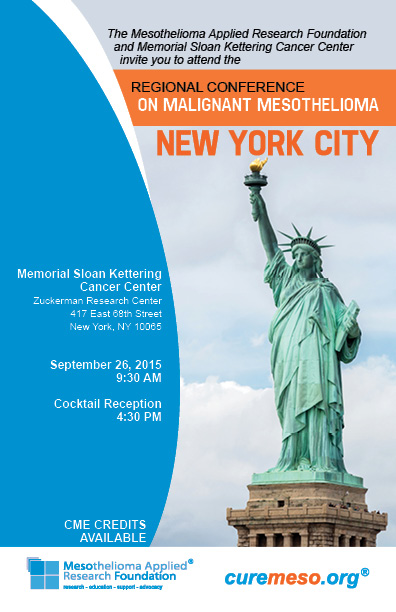 New York Experts On Mesothelioma Come Together At Memorial Sloan Kettering Cancer Center