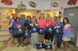 Staff from Fellsmere Elementary School and Dale Sorensen Real Estate