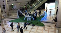 structure studio de radio au forum des halles par l'agence d'architecture intérieure Apolline Terrier