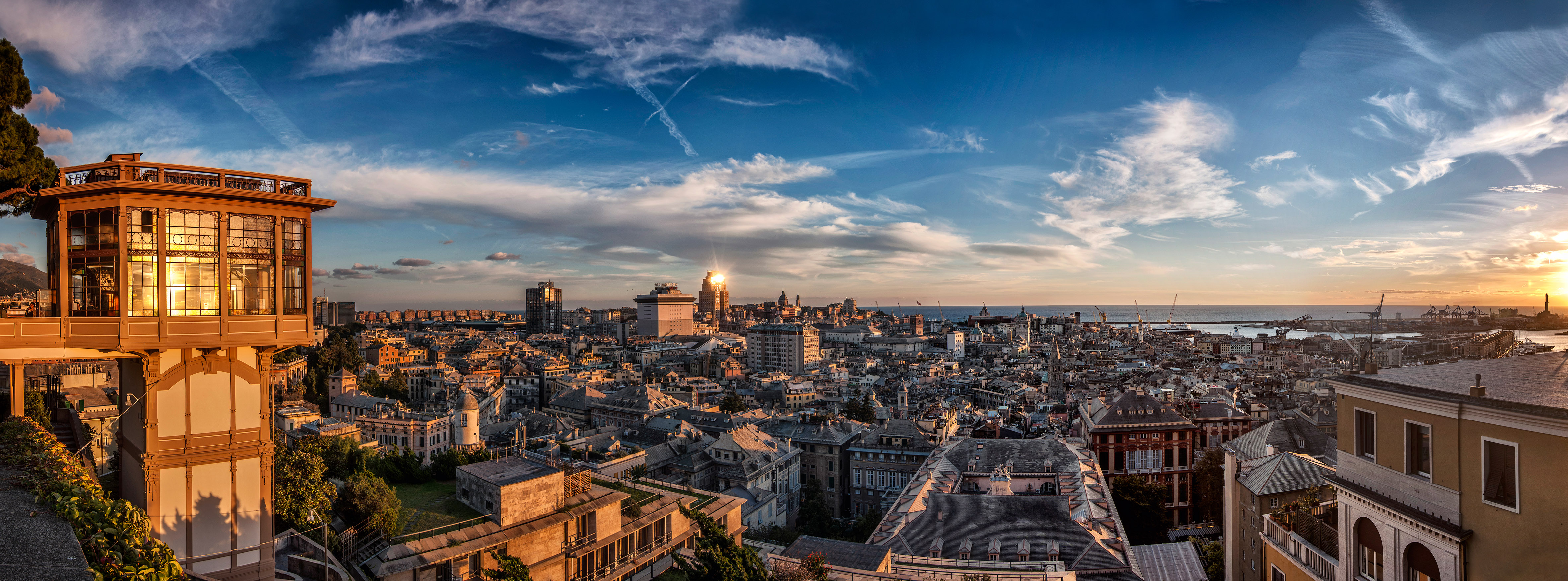 Capital Region Cars >> Genoa: A Vertical City, Wedged Between Mountains and Sea