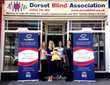 Dorset Blind Association receives donation of new banner stands