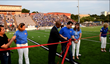 Ribbon Cutting Ceremony Before the Taco Shack Bowl Kickoff at Austin ISD's House Park Stadium.