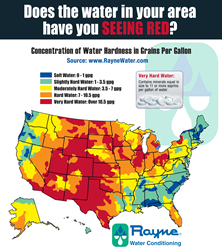 National Water Hardness Map