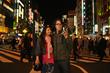 Tom (Jonathan Sherr) and Saki (Ituska) in Tokyo