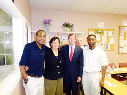 Senator Blumenthal visits CCAR
