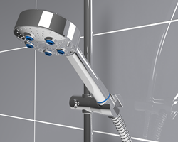 Kelda shower is 20x safer than an aerating shower in guarding against harmful legionella.