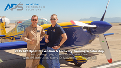 2015 APS Upset Prevention & Recovery Training Scholarship