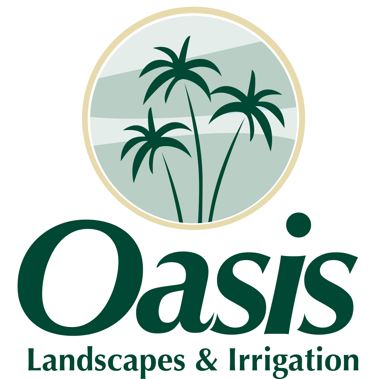 Oasis Landscapes and Irrigation in Atlanta Launches ... Oasis Logo Png