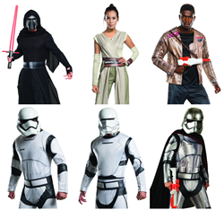 Force Awakens Costume Collage