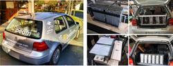 M-Beam Vehicle Collage
