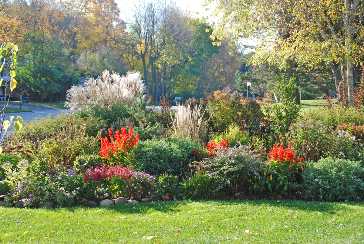 A checklist of fall landscape must dos can be done pain free - Gardening in fall ...