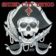 Studio City Tattoo Jolly Roger logo, Talk Like A Pirate Day, September 19th