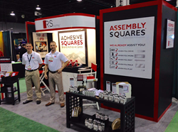 RS Industrial exhibits industrial adhesives for packaging at Pack Expo.