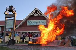 Rowley's Bay Restaurant Fish Boil