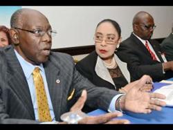 Jamaican Health Minister Fenton Furgeson