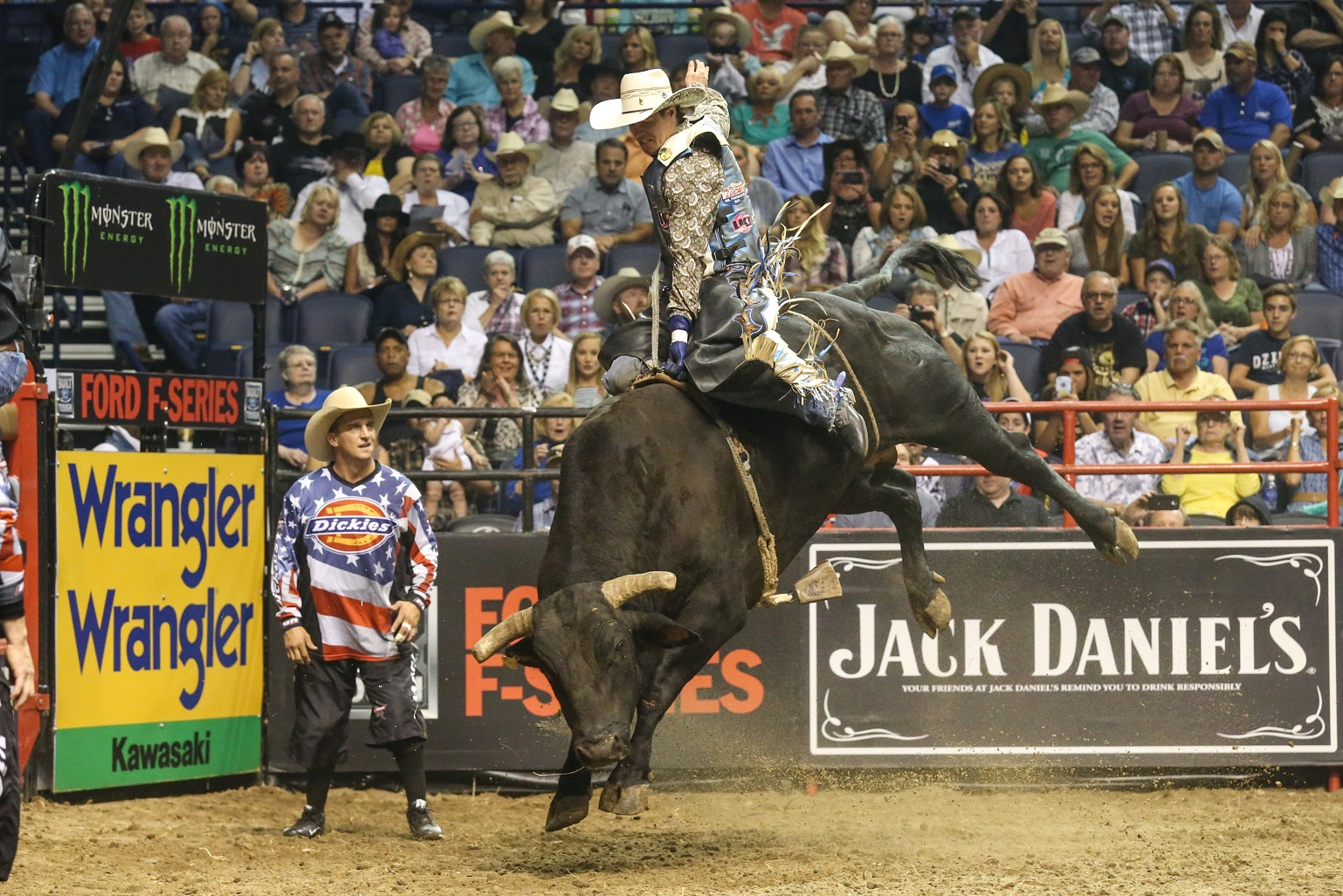 real time pain relief sponsors the talented pbr bull rider from down under