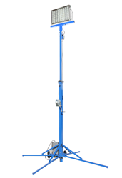 Larson Electronics releases a 400 Watt Portable LED Light Tower for General Work Area Illumination
