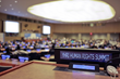 The Human Rights Summit was held at the United Nations in New York in Conference Room 4.