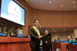 Youth delegate Francisco Javier Carrasco represented Mexico at the 12th annual Youth Summit