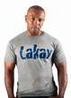 Tri-blend crew available at lakaywear.com