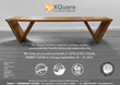GloDea Premiers XQuare Harwood Furniture at Casual Market show in September