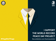 """RecordSetter Invites Guinness World Records to """"Make Peace"""" on Peace Day"""